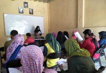 Kegiatan Belajar Mengajar paket B setara SMP